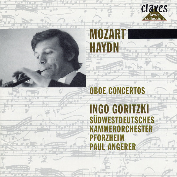 (1987) Mozart & J. Haydn: Concertos for Oboe - Albinoni: Concertos for two Oboes / CLF 606-9 - Claves Records