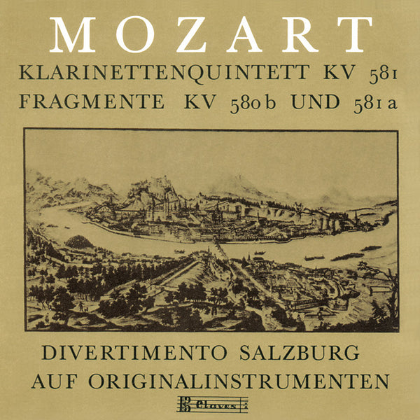 (1986) Mozart: Clarinet Quintet / CD 8007 - Claves Records