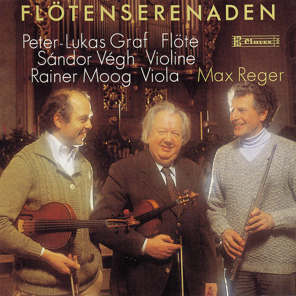 (1990) Reger/ Flotenserenaden - CD 8104 - Claves Records