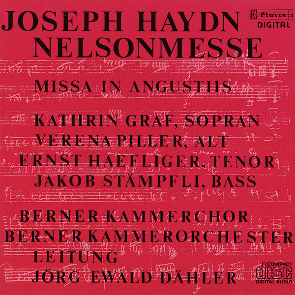 (1984) Joseph Haydn: Nelson Mass (Coronation Mass) - CD 8108 - Claves Records