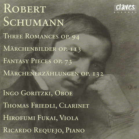 (1987) R. Schumann : Three Romances Op. 94 - Märchenbilder Op. 113 - Fantasy Pieces Op. 73 - Märchenerzählungen Op. 132