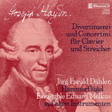 (1982) J. Haydn: Divertimenti & Concertini for Pianoforte and Strings