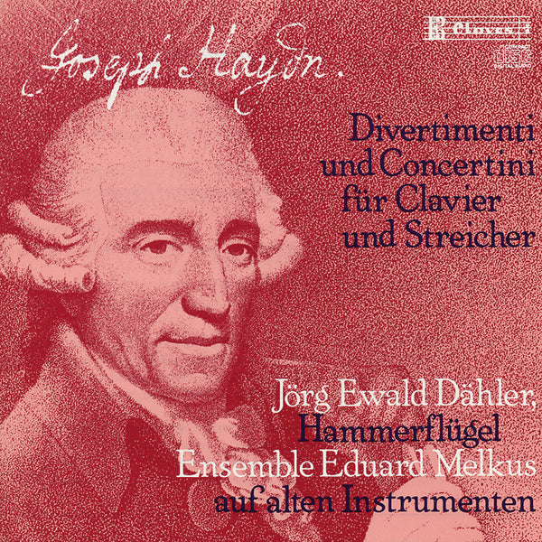 (1982) J. Haydn: Divertimenti & Concertini for Pianoforte and Strings / CD 8202 - Claves Records