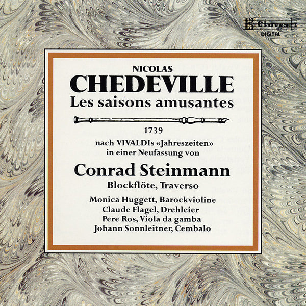 (1989) Vivaldi/Chedeville/Couperin / CD 8302 - Claves Records
