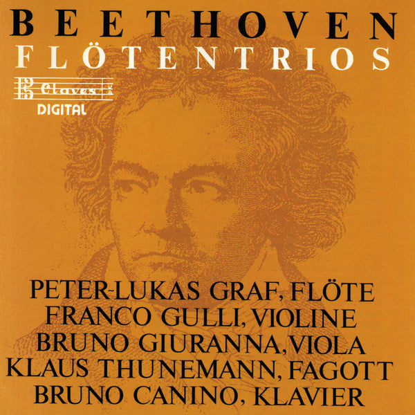 (1988) Ludwig Van Beethoven: Trio G-Dur WoO 37 / Serenade D-Dur Op. 25 / CD 8403 - Claves Records