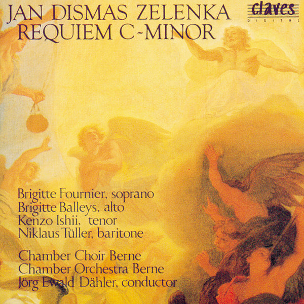 (1985) Jan Dismas Zelenka: Requiem In C Minor / CD 8501 - Claves Records