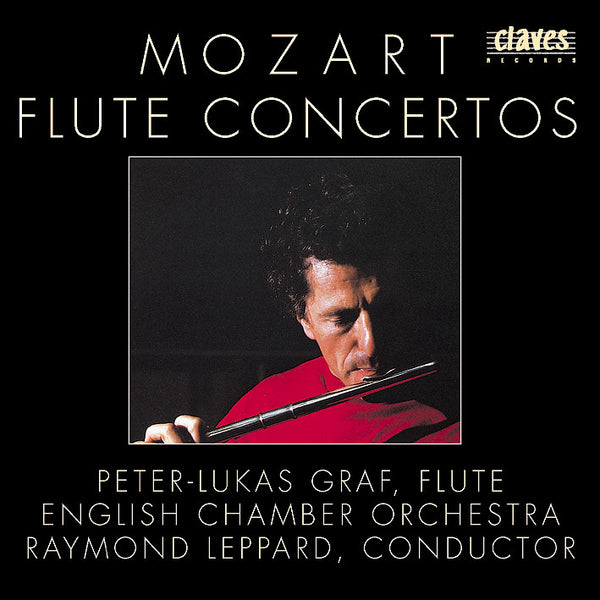 (1986) Mozart: Flute Concertos & Pieces - CD 8505 - Claves Records