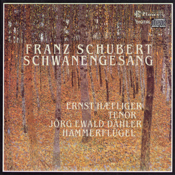 (1986) Franz Schubert/ Schwanengesang / CD 8506 - Claves Records