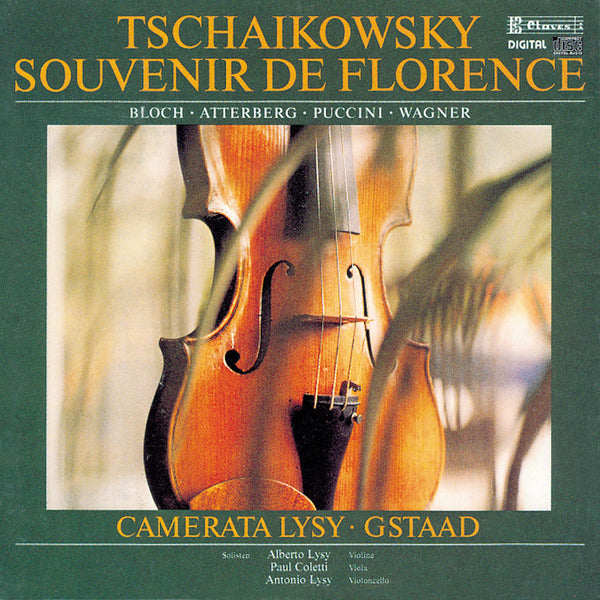 (1985) Tchaikovsky, Bloch, K. Atterberg, Puccini & Wagner: Music for Strings - CD 8507 - Claves Records
