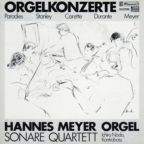 (1986) Barocke Orgelkonzerte / Suite Paysanne - CD 8511 - Claves Records