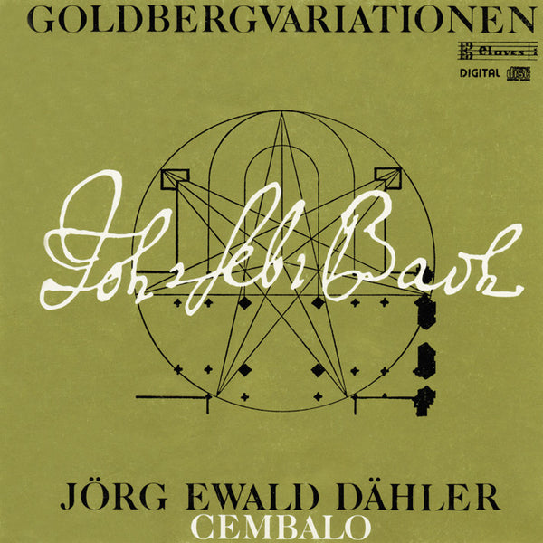 (1986) Bach: Goldberg Variations BWV 988 / CD 8601 - Claves Records