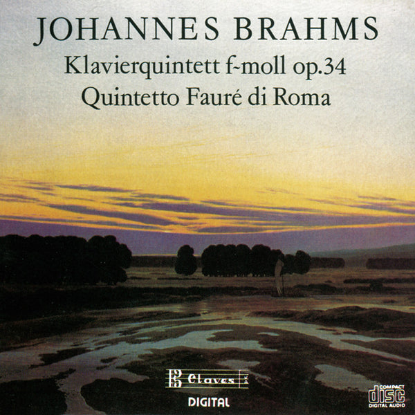 (1987) Brahms: Piano Quintet Op. 34 - CD 8702 - Claves Records