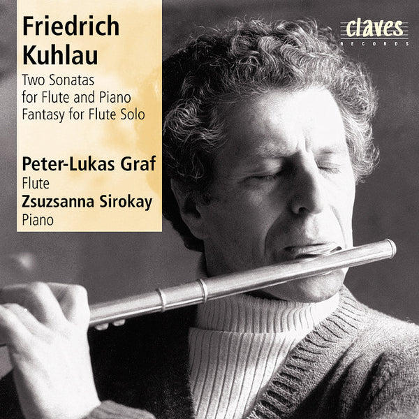 (1987) Friedrich Kuhlau/Flute Sonatas - CD 8705 - Claves Records