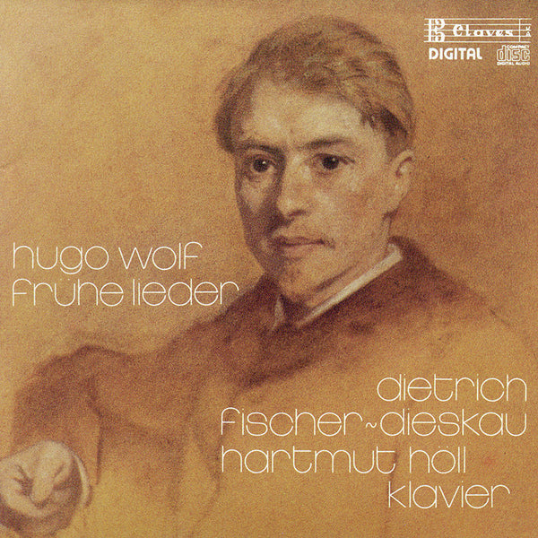 (1987) Hugo Wolf: Frühe Lieder - CD 8706 - Claves Records