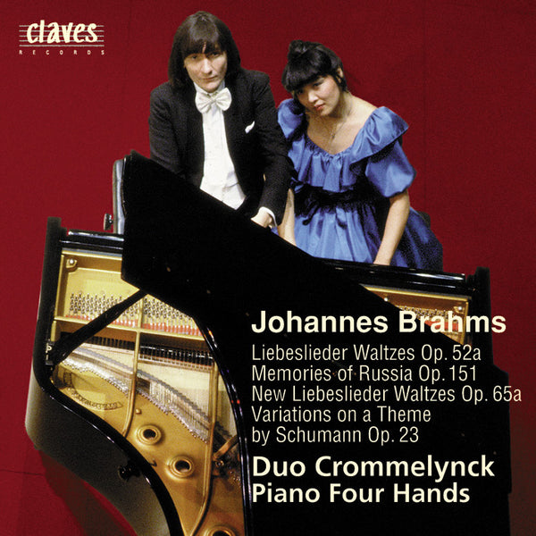 (1987) Complete Original Works for Piano 4 Hands, Vol. 2 - CD 8711 - Claves Records