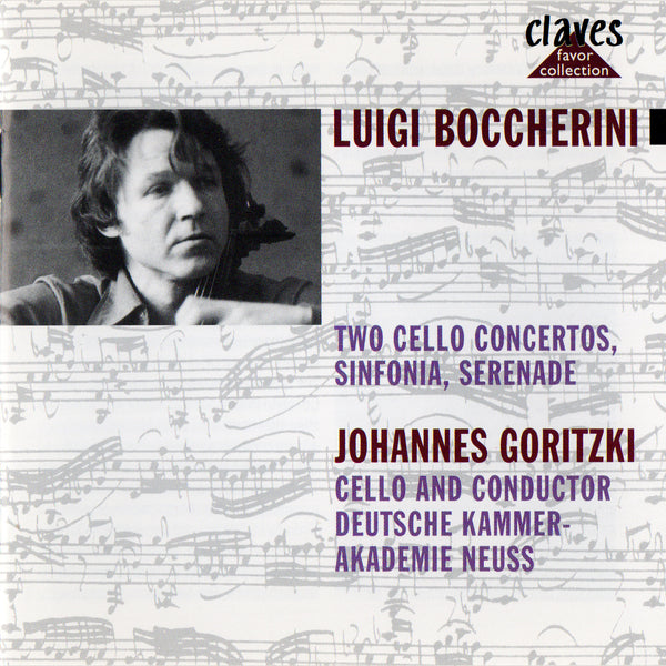 (1987) Boccherini: An Italian in Spain - CLF 8713-9 - Claves Records