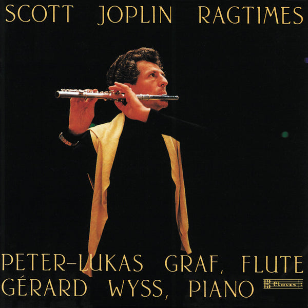(1987) Scott Joplin: Ragtimes / CD 8715 - Claves Records