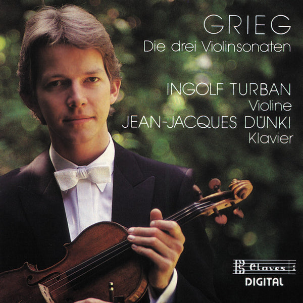 (1988) Grieg: Violin Sonatas / CD 8808 - Claves Records