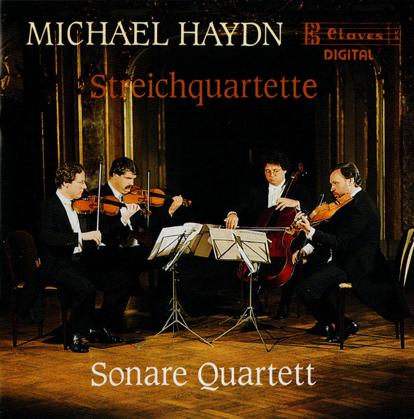 (1988) Michael Haydn/ String Quartets - CD 8811 - Claves Records