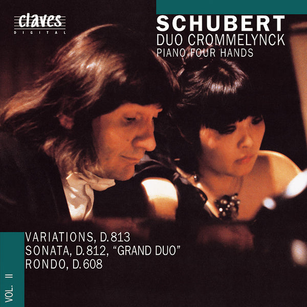 (1989) Franz Schubert: Works for Piano 4 Hands Vol. II / CD 8901 - Claves Records