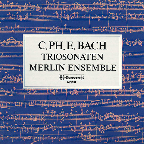 (1989) C.P.E. Bach : Trio Sonaten for Flute, Oboe and Continuo
