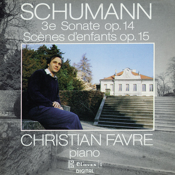 (1989) Robert Schumann/ Sonate Op.14/ Scenes D'Enfants / CD 8906 - Claves Records