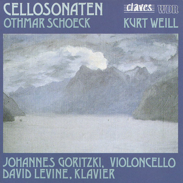 (1990) Late Romantic Cello Sonatas / CD 8908 - Claves Records