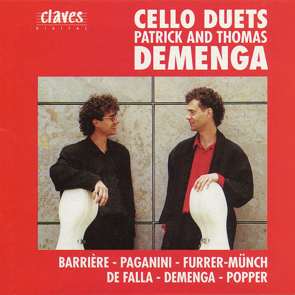 (1989) Cello Duets - CD 8909 - Claves Records