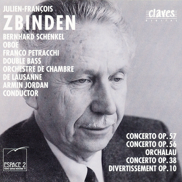 (1989) Zbinden: Concertos - CD 8919 - Claves Records