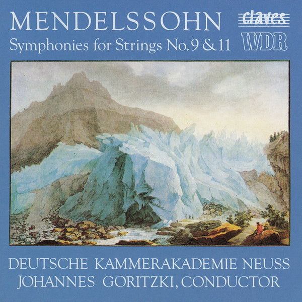 (1990) Mendelssohn: String Symphonies No. 9 & 11 / CD 9002 - Claves Records