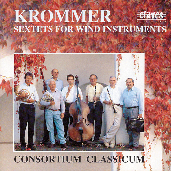 (1990) Krommer: Wind Sextets - CD 9004 - Claves Records