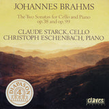 (1990) Brahms: The Sonatas for Cello & Piano Op. 38 & Op. 99