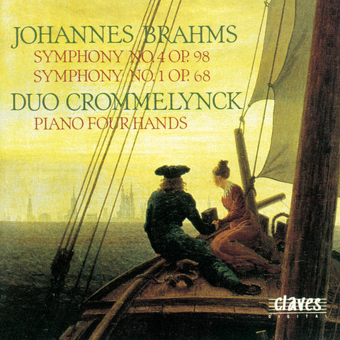 (1990) Brahms: Symphony No. 4 & No. 1 (Original Versions for Piano Four Hands)