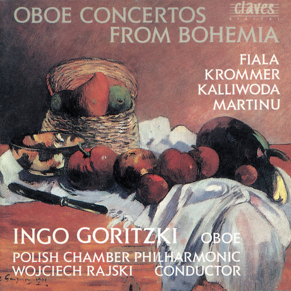 (1990) Oboe Concertos from Bohemia - CD 9018 - Claves Records