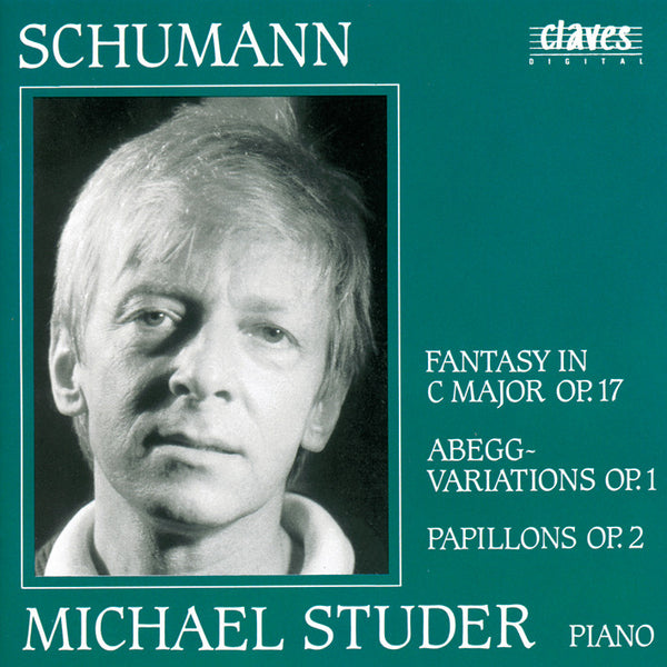 (2000) Schumann: Works for Piano, Op. 1,2,17 - CD 9019 - Claves Records