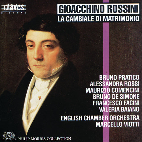 (1991) Rossini: La cambiale di matrimonio, Early One-Act Operas, Vol. 2/5