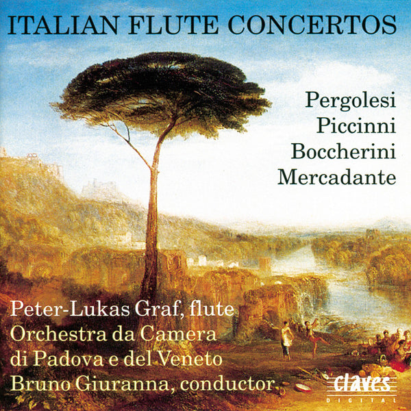(1991) Italian Flute Concertos - CD 9103 - Claves Records