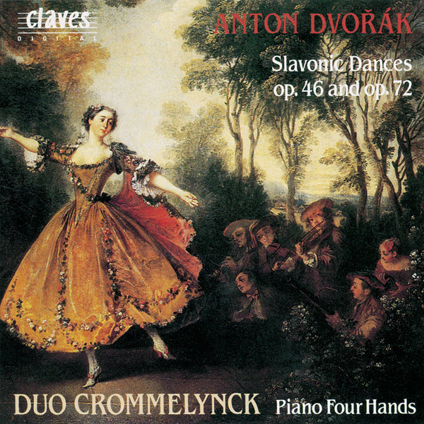 (1991) Dvorak: Complete Works for Piano 4 Hands, Vol. II - CD 9107 - Claves Records