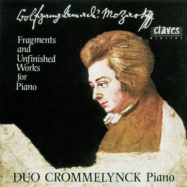 (1991) Fragments & Unfinished Works For Piano, Two Pianos & Piano Four Hands / CD 9109 - Claves Records