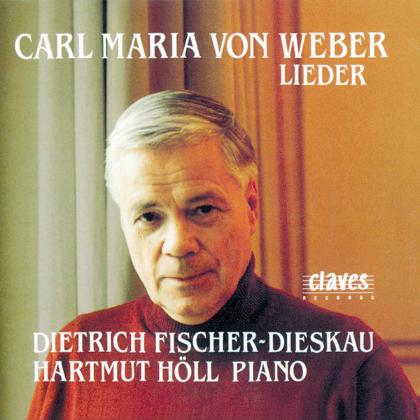 (1993) Weber: Lieder / CD 9118 - Claves Records
