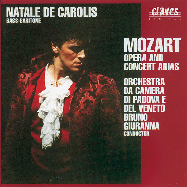 (1991) Mozart : Opera & Concert Arias / CD 9120 - Claves Records