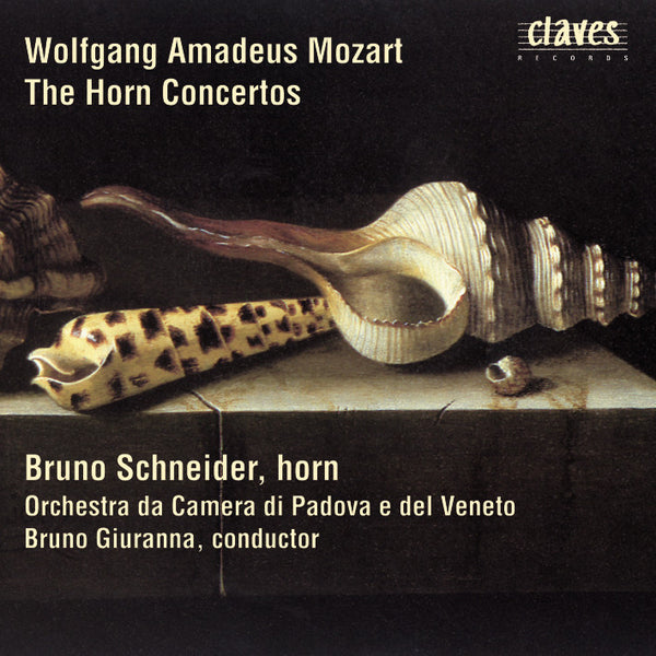 (1997) Wolfgang Amadeus Mozart: The Horn Concertos - CD 9121 - Claves Records