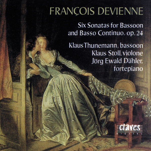 (1992) Devienne : Six Sonatas for Bassoon and Basso continuo, Op. 24 / CD 9207 - Claves Records