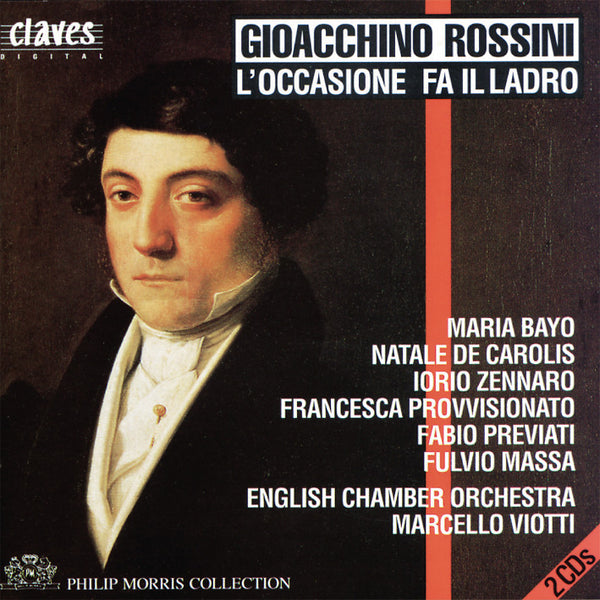 (1992) Gioacchino Rossini: L'Occasione Fa Il Ladro / CD 9208-9 - Claves Records