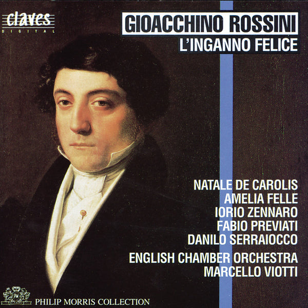 (1992) Gioacchino Rossini: L'Inganno Felice - CD 9211 - Claves Records