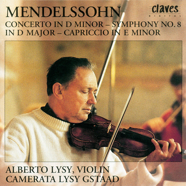 (1992) Mendelssohn: Concerto in D Minor & Orchestral Works - CD 9213 - Claves Records