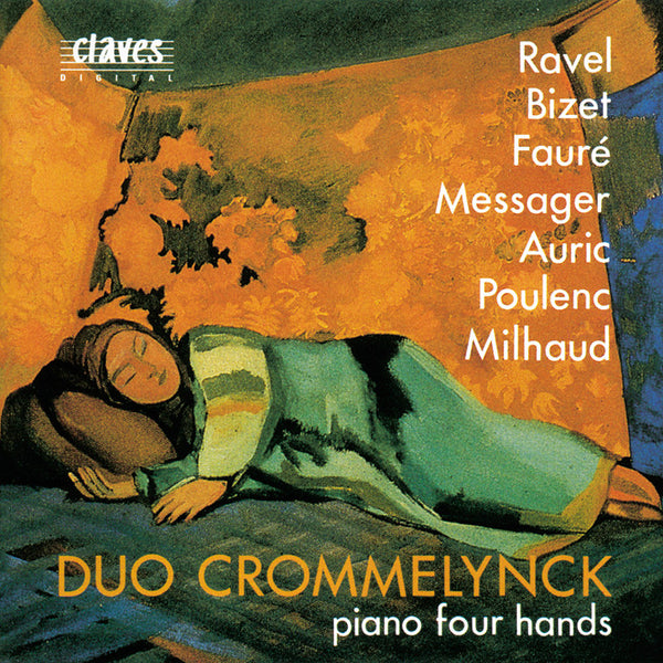 (1992) French Masterpieces For Piano Four Hands / CD 9214 - Claves Records