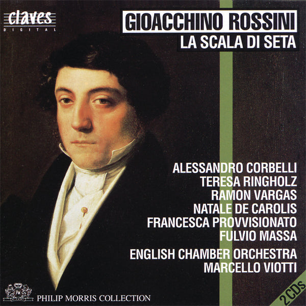 (1992) Gioacchino Rossini: La Scala Di Seta - CD 9219-20 - Claves Records
