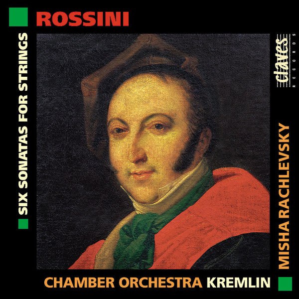 (1998) Gioacchino Rossini: Six Sonatas For Strings / CD 9222 - Claves Records