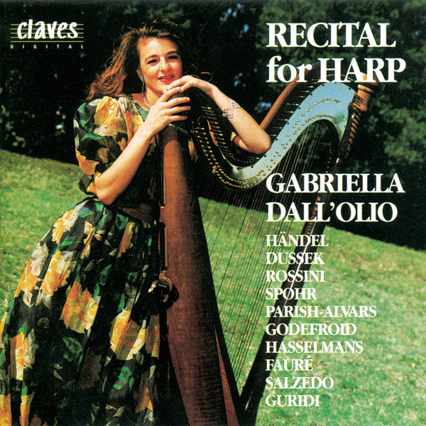 (1992) Recital for Harp / CD 9301 - Claves Records